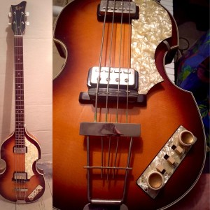 Vintage Hofner Electric Bass