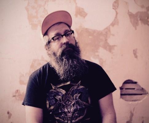 Seth W. recording a new song at Pinetop Recording Studio.