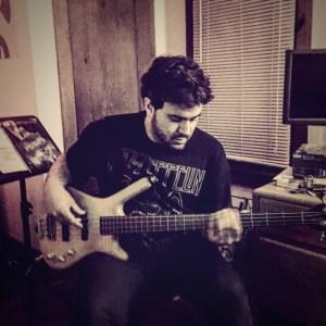 Mike Bustamante playing a Warwick