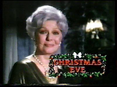 Loretta Young solo christmas eve