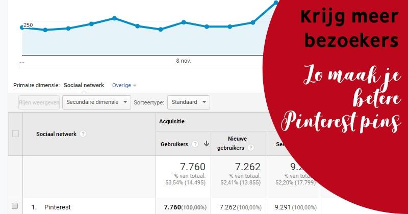 meer bezoekers via pinterest perfecte pin facebook