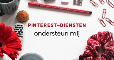 Pinterest-diensten - ondersteun mij