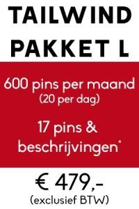 pinterest management tailwind pakket l