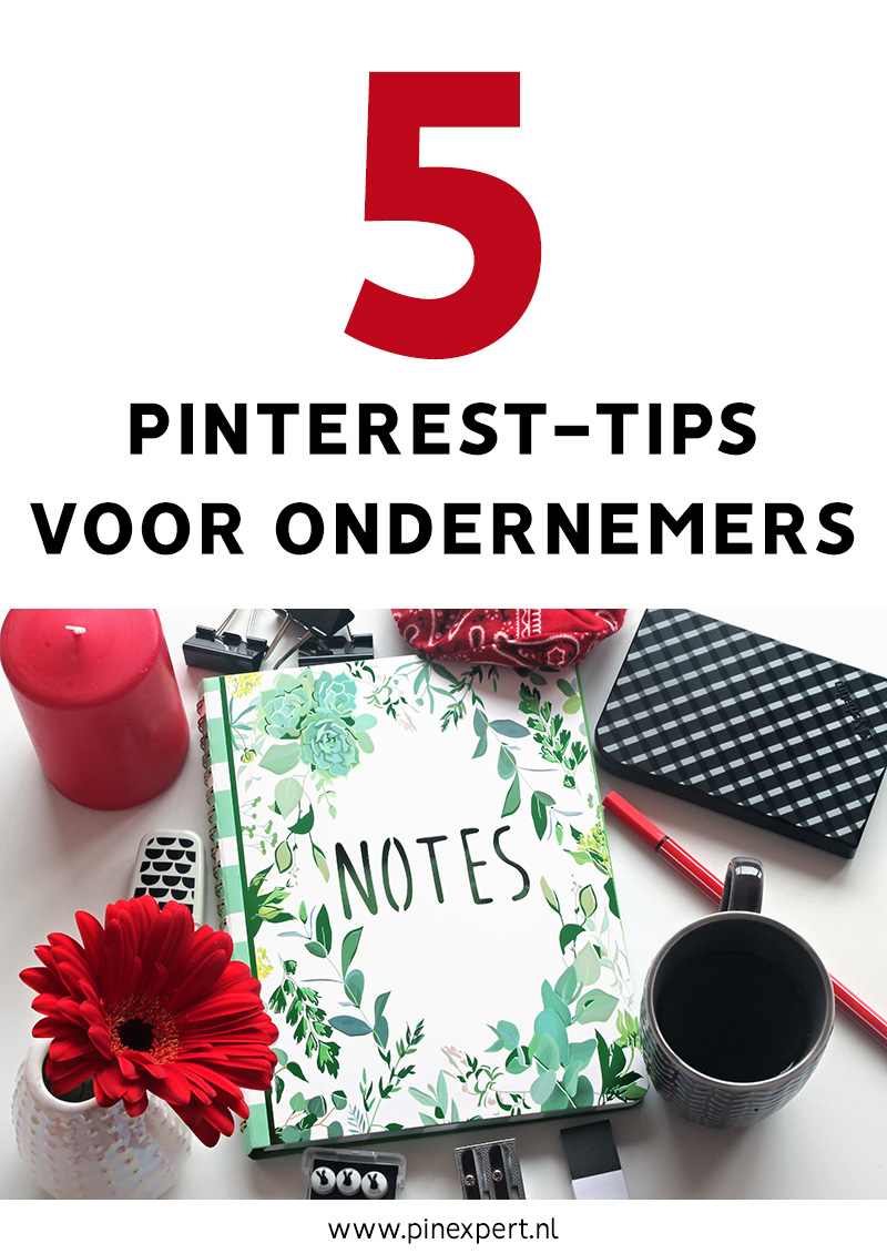 5 pinterest tips ondernemers