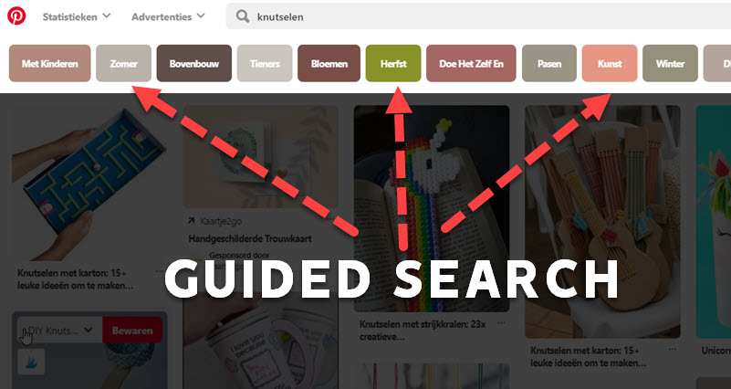 guided search