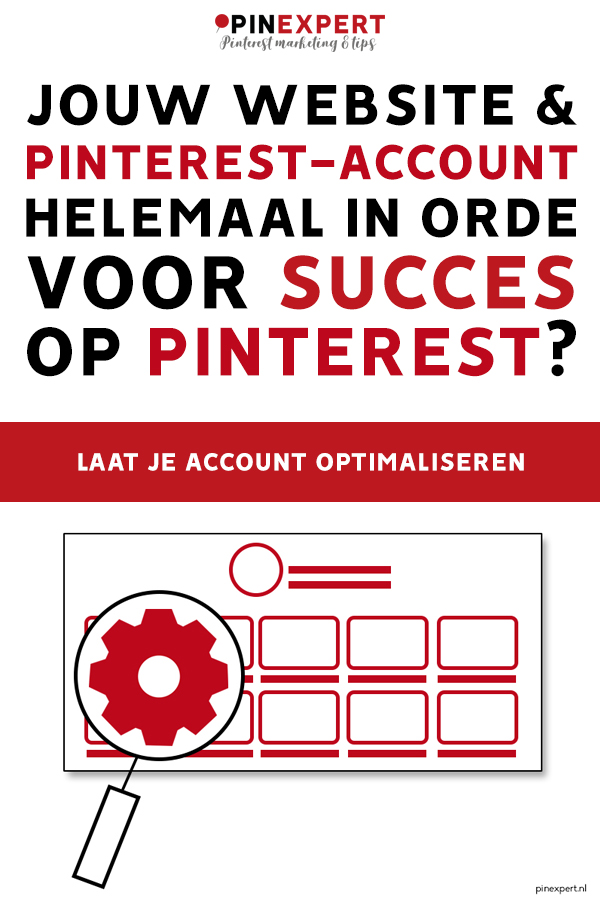 Pinterest-account optimaliseren