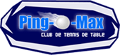 Logo Club de tennis de table Ping-O-Max