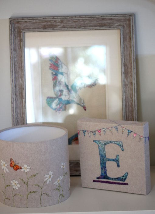 Embroidered Letter E