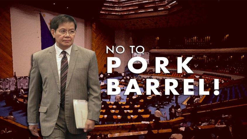 Thumbnail No to Pork Barrel