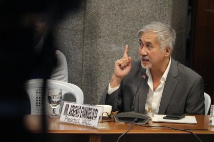 Senate hearing on corruption at Bilibid