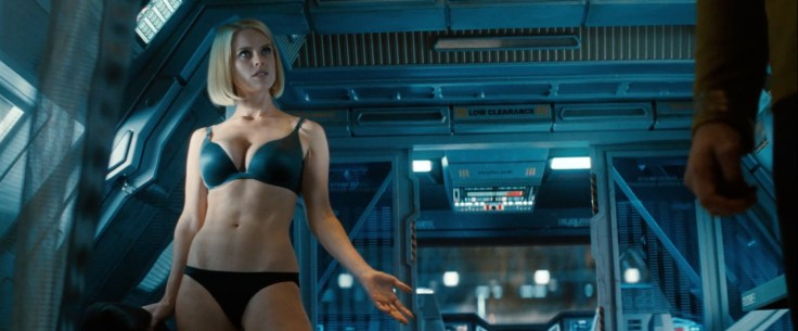 alice eve as marcus Carol from star trek