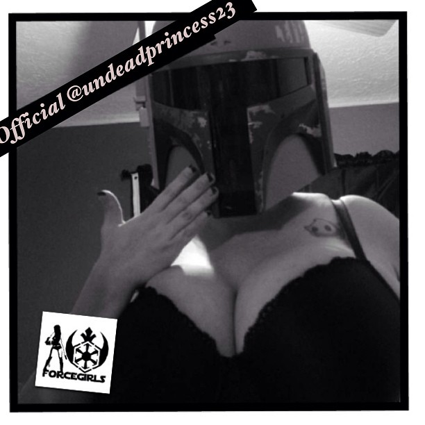 Welcome #OfficialForceGirl @undeadprincess23! This awesome lady is a Star Wars fanatic and comic collector