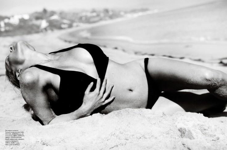 Pamela Anderson in Vogue, Brazil