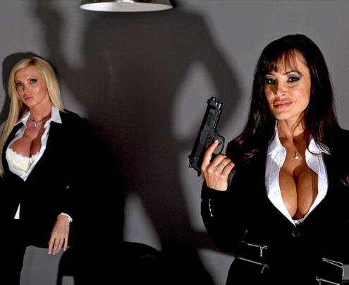 Lisa Ann, Juelz Ventura et Nikki Benz.
