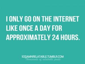 Message de Service - Internet