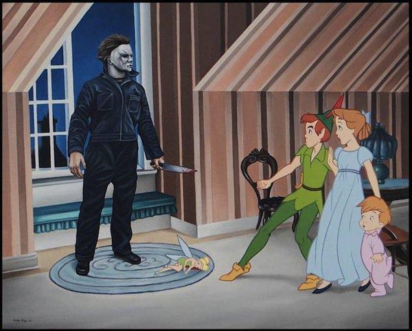 Известные злодеи в диснеевских мультфильмах