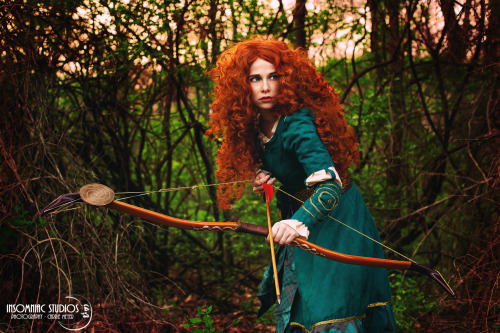 cosplay merida (brave-REBELLE)1