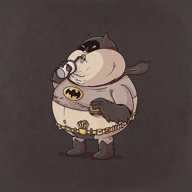 Супергерои из Макдональдса