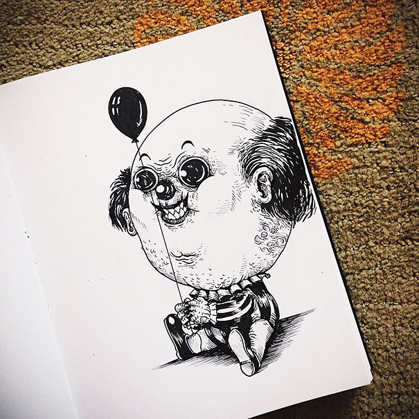 baby-terrors-iconic-horror-monsters-illustrations-alex-solis-5