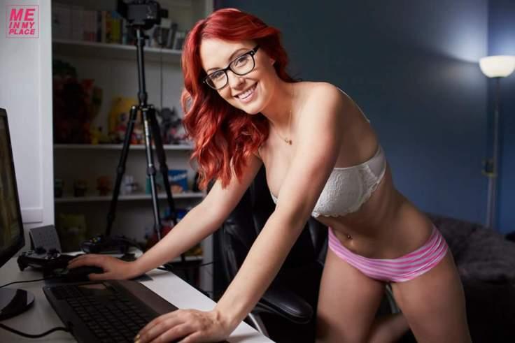 Meg Turney - pink undies 03