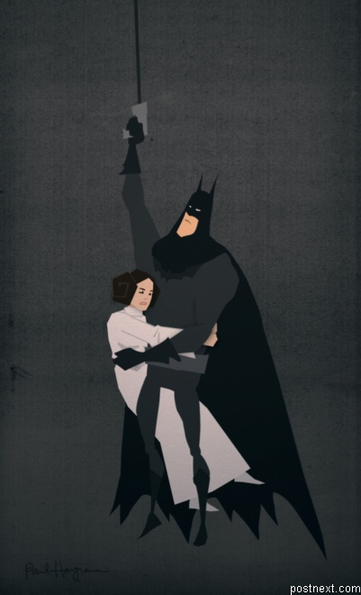Batman sauve leia