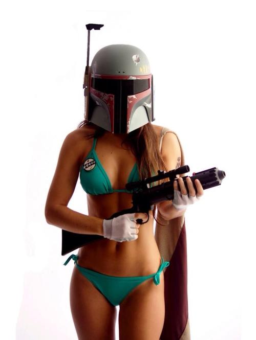 boba fett bikini cosplay3