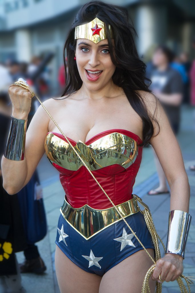 valerie perez as wonderwoman