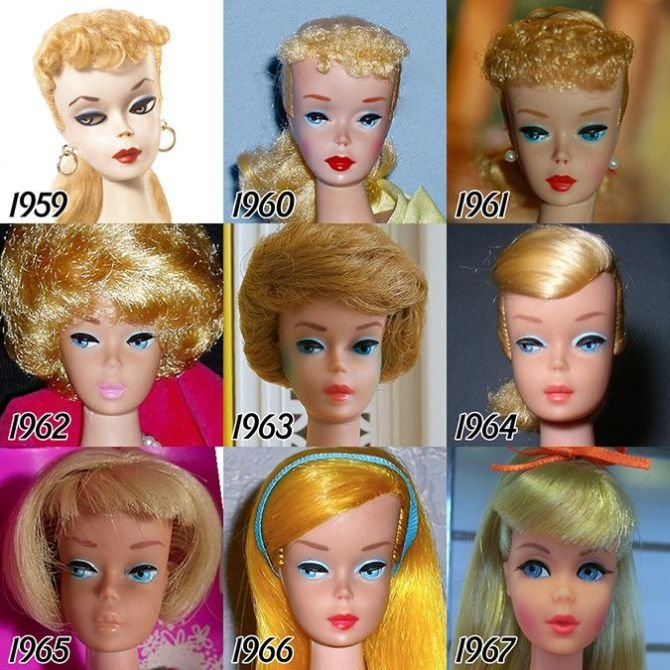 Barbie Evolution 0