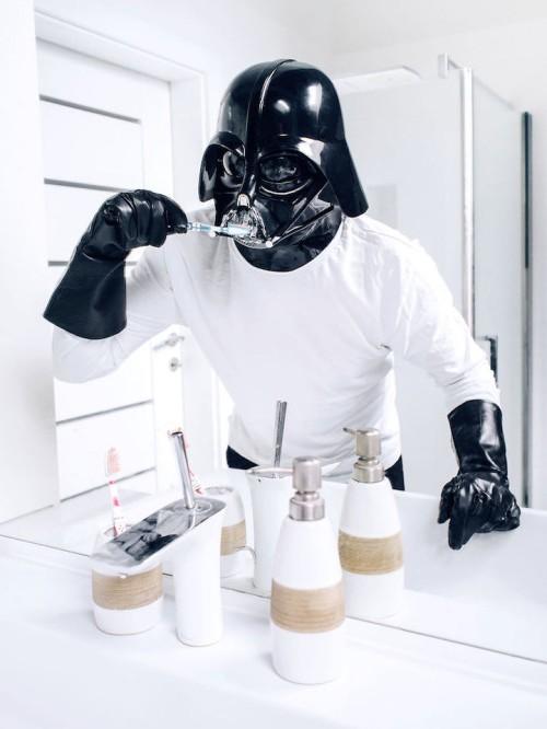 Darth Vader - le train train quotidien du coté obscur 5