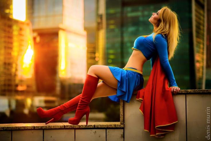Captain Irachka Cosplay (Russia) as Supergirl2