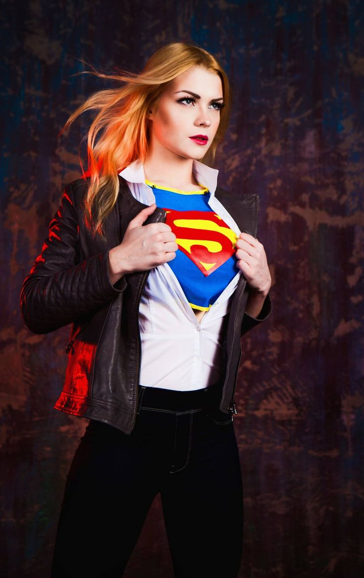 Captain Irachka Cosplay (Russia) as Supergirl4