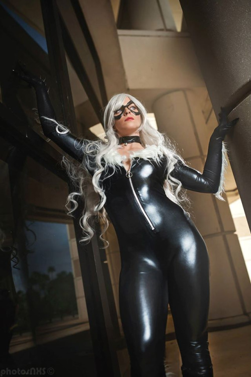 Black Cat Cosplay (3)