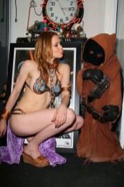 Cosplay Bikini Slave Leia (7)