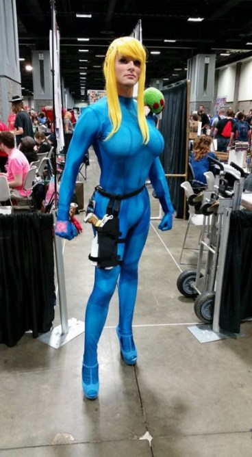 Cosplay Samus Metroid (3)