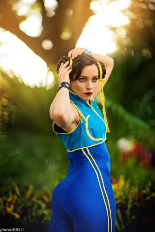 Street fighter Chun Lee Cosplay (1)