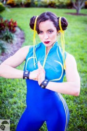 Street fighter Chun Lee Cosplay (2)
