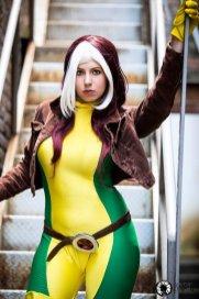 rogue cosplay (malicia xmen) (2)