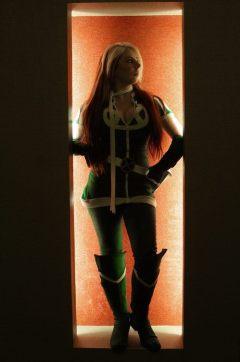 rogue cosplay (malicia xmen) (7)