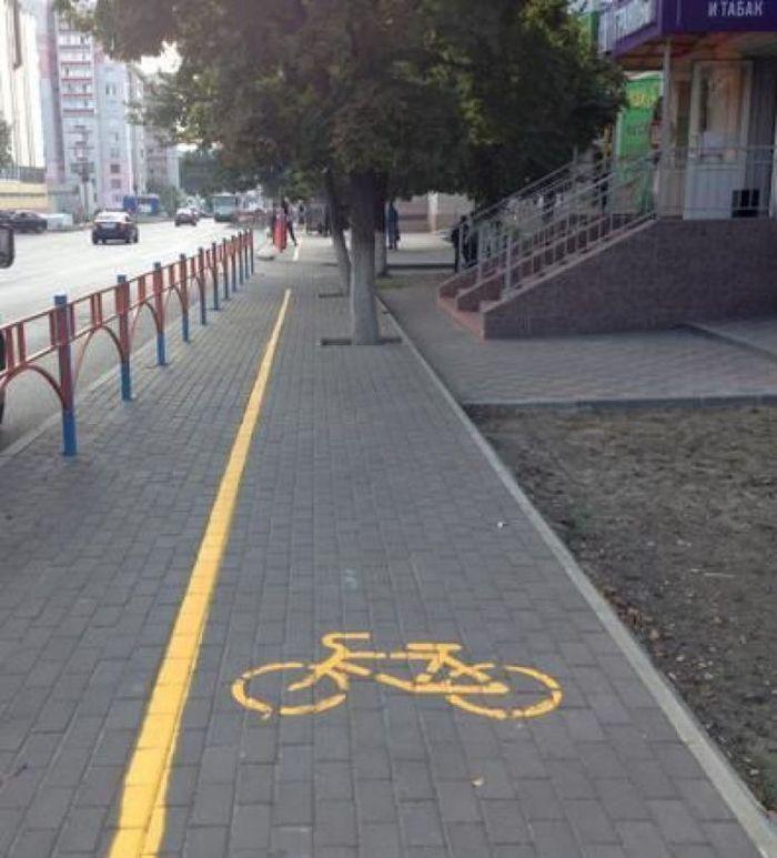 Будни российского велосипедиста