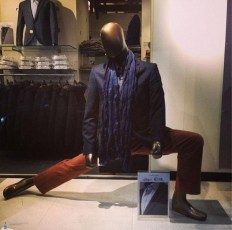 Mannequin d'exception