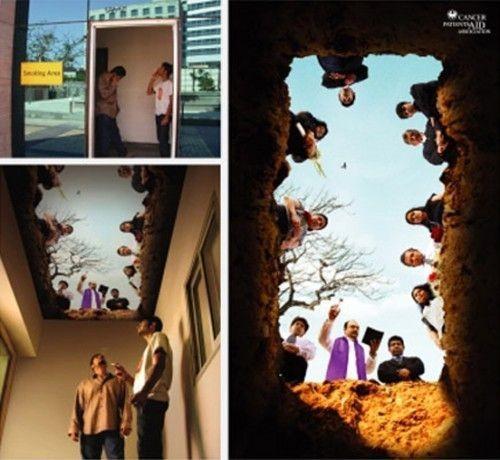 Жесткая антитабачная реклама (43 фото)