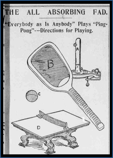 Table Tennis SetHistory