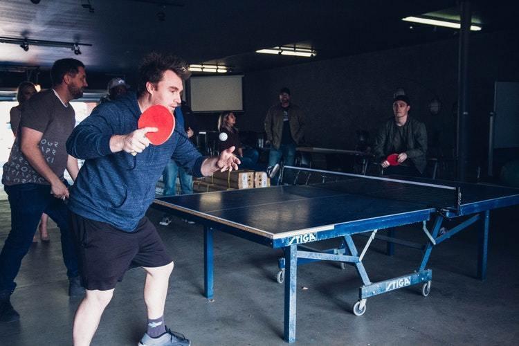 Ping Pong Promotes Family Bonding