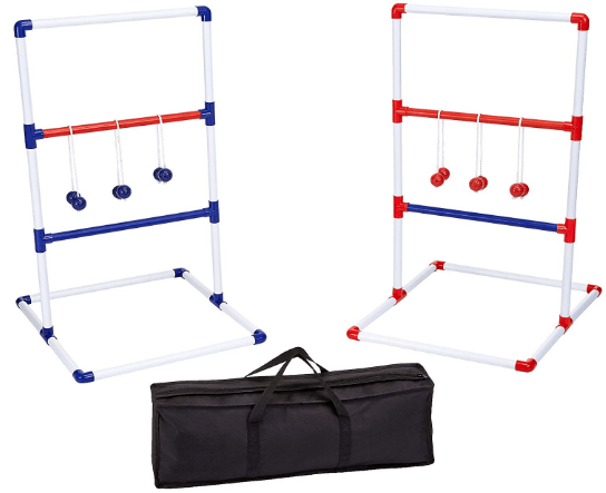 AmazonBasics Ladder Toss Outdoor Lawn Game Set Review