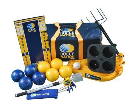 BocceNation Complete Tournament Bocce Ball Set Review
