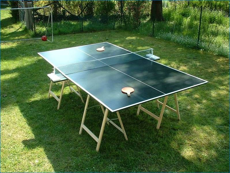 DIY Ping Pong Table Plan 1