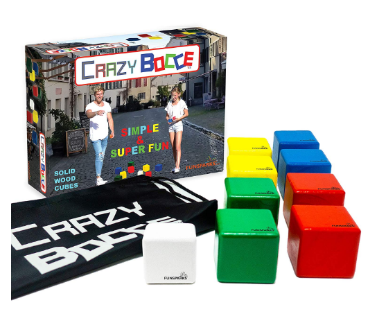 Funsparks Crazy Indoor/Outdoor Bocce Ball Set for Kids