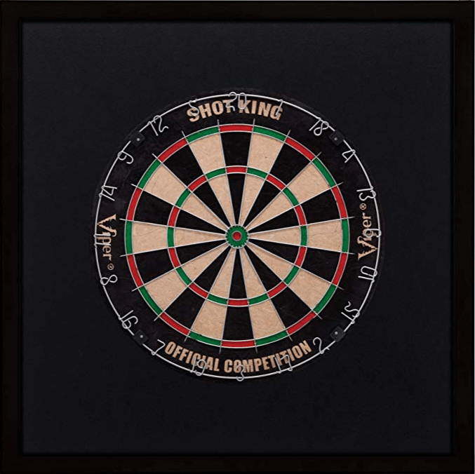 Viper Wood Framed Dartboard Backboard