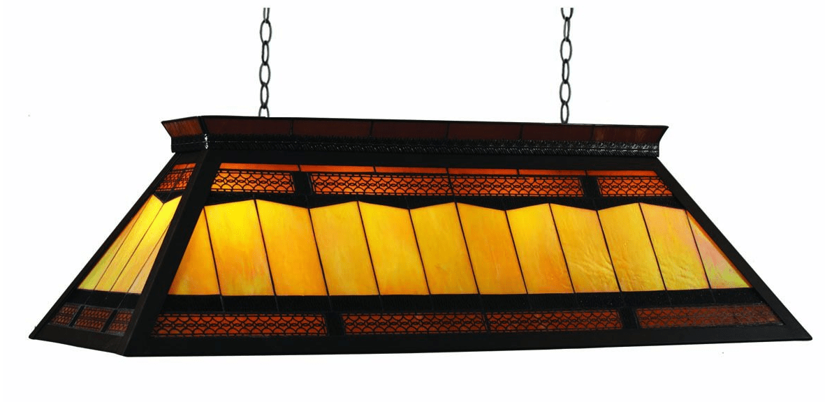 RAM Gameroom 44-Inch Filigree Billiards Table Light Review