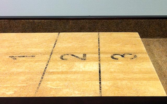 Shuffleboard Score Counting